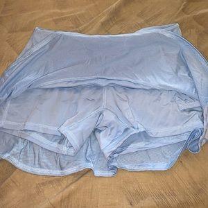 Nike Skirts - Baby blue tennis skirt